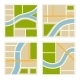 Set of Abstract City Map Illustration - GraphicRiver Item for Sale