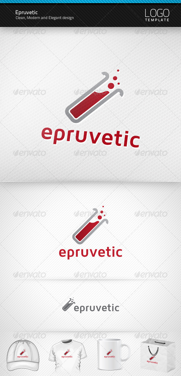 Epruvetic Logo - Symbols Logo Templates