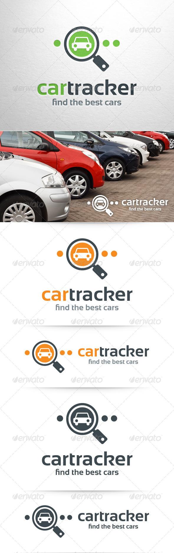 GraphicRiver Car Tracker Logo Template 8405890