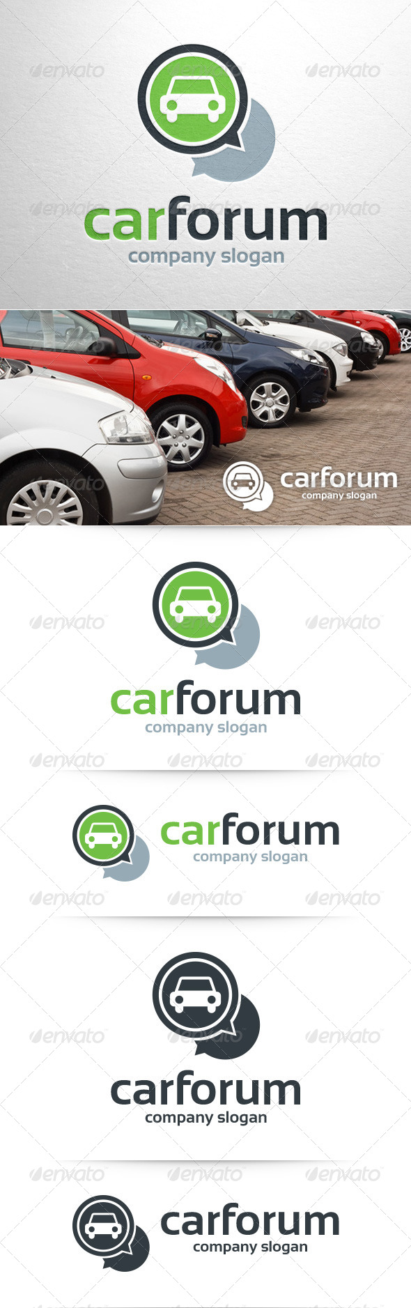 Car Forum Logo Template