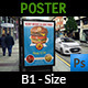 Burger Restaurant Poster Template - GraphicRiver Item for Sale