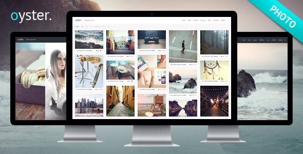 ThemeForest Oyster Creative Photo WordPress Theme 8406045