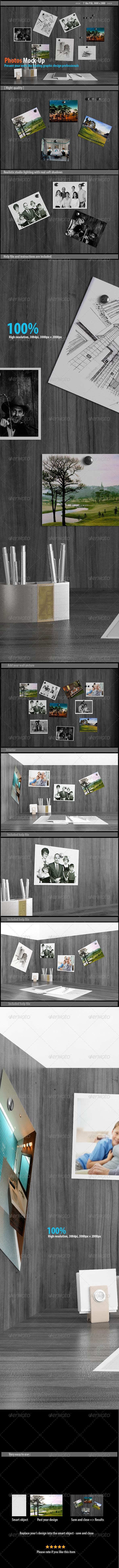 GraphicRiver Photos Mockups 8391124