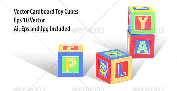 GraphicRiver Play Cubes 8406042