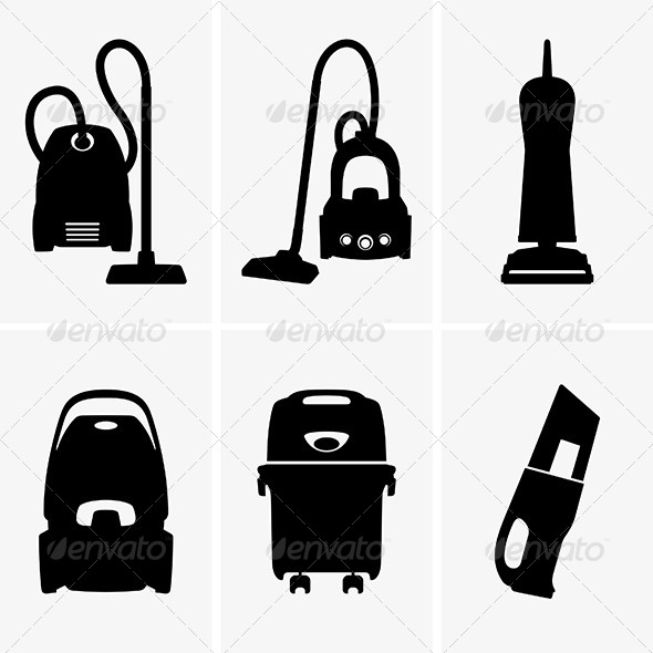 GraphicRiver Vacuum Cleaners 8406309