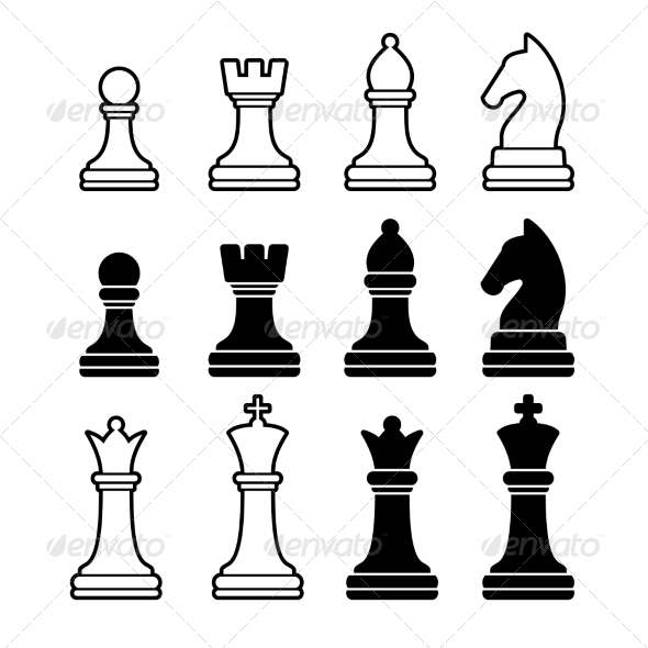 GraphicRiver Chess Pieces 8406407