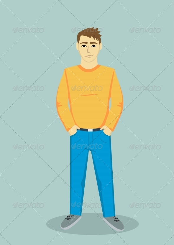 GraphicRiver Young Man 8406437