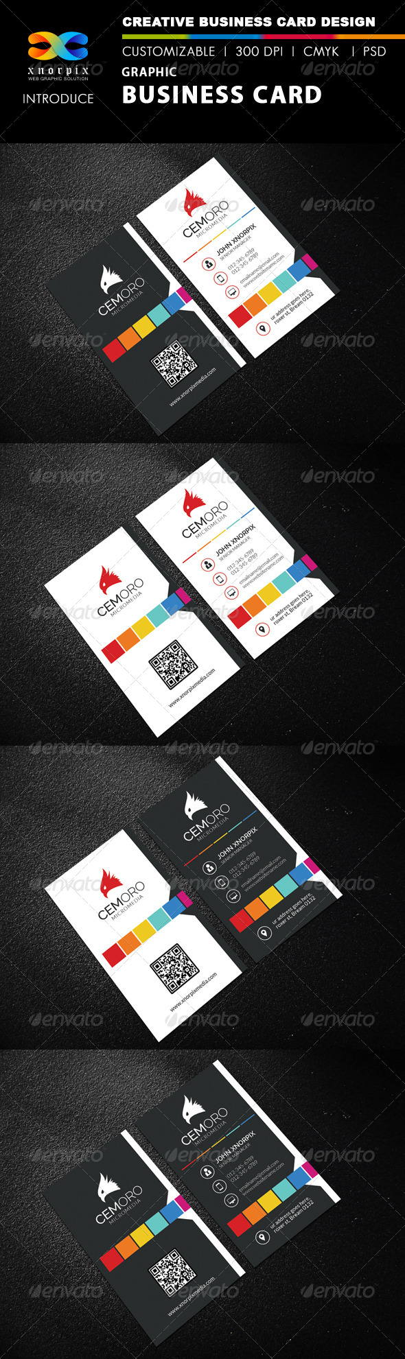 Graphic Business Card