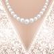 Decolette of White Lace Bridal Dress - GraphicRiver Item for Sale