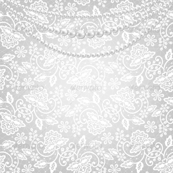 GraphicRiver Lace Fabric Background 8406468