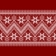 Red Background with White Pattern - GraphicRiver Item for Sale