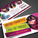 Beauty Fashion Gift Voucher V21 - GraphicRiver Item for Sale