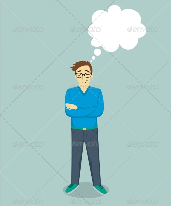 GraphicRiver Dreaming Man 8406637