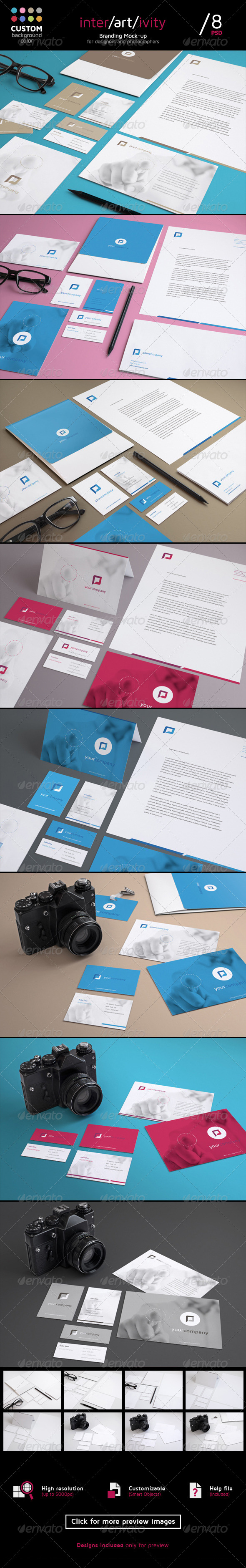 Stationery Mock-Up Set