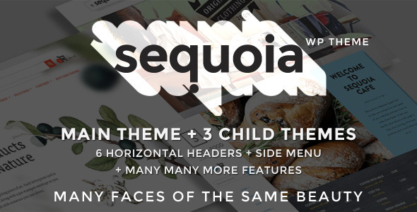 Sequoia - E Commerce and Multipurpose WP Theme