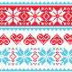 Winter Seamless Pixelated Pattern - GraphicRiver Item for Sale