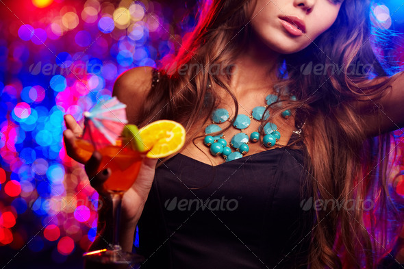 PhotoDune Clubbing girl 854480