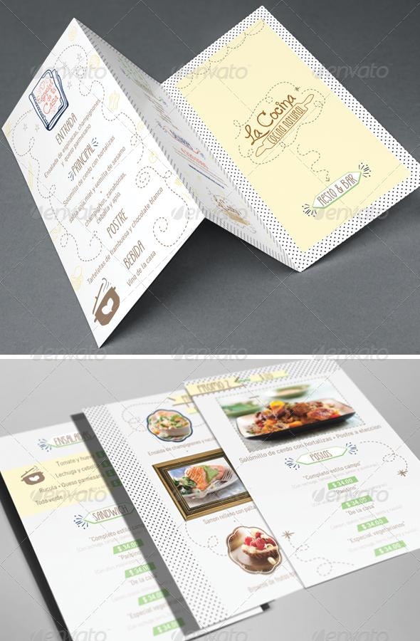 GraphicRiver Resto & Bar Menu 8376795