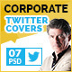 Corporate Twitter Covers - GraphicRiver Item for Sale