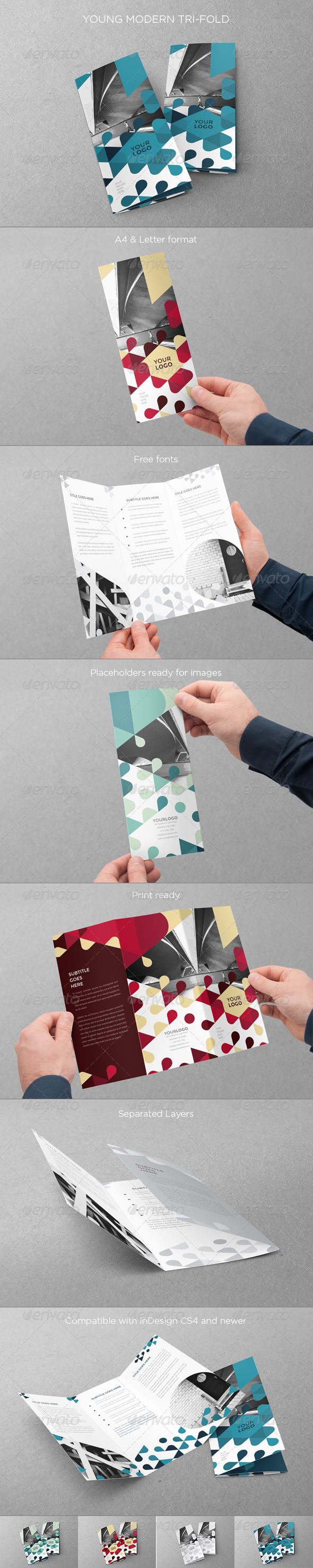 GraphicRiver Young Modern Trifold 8407522