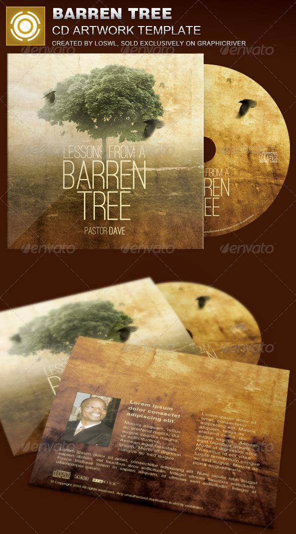GraphicRiver Barren Tree CD Artwork Template 8407528