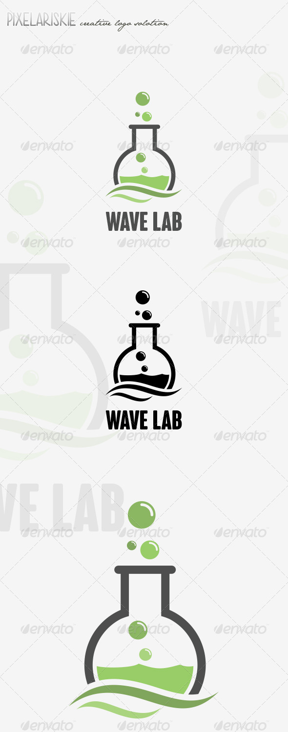 GraphicRiver Wave Lab Logo 8407928