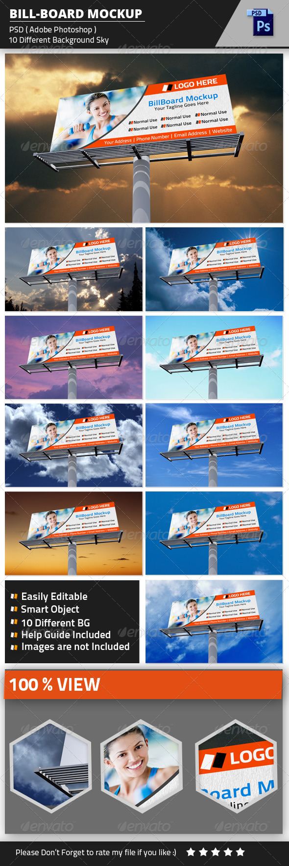 GraphicRiver Billboard Mockup 8408011