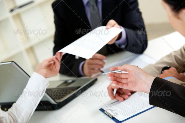 PhotoDune Important document 854609