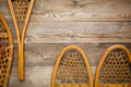 wooden snowshoes abstract - PhotoDune Item for Sale