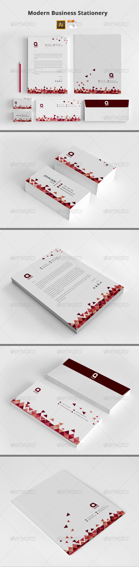 GraphicRiver Modern Business Stationery 8408494