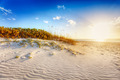Sun setting over Grace Bay - PhotoDune Item for Sale