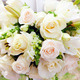 wedding marquee with bouquets of roses - PhotoDune Item for Sale