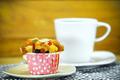 Cupcake and coffee. - PhotoDune Item for Sale