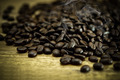 Coffee on wooden background - PhotoDune Item for Sale