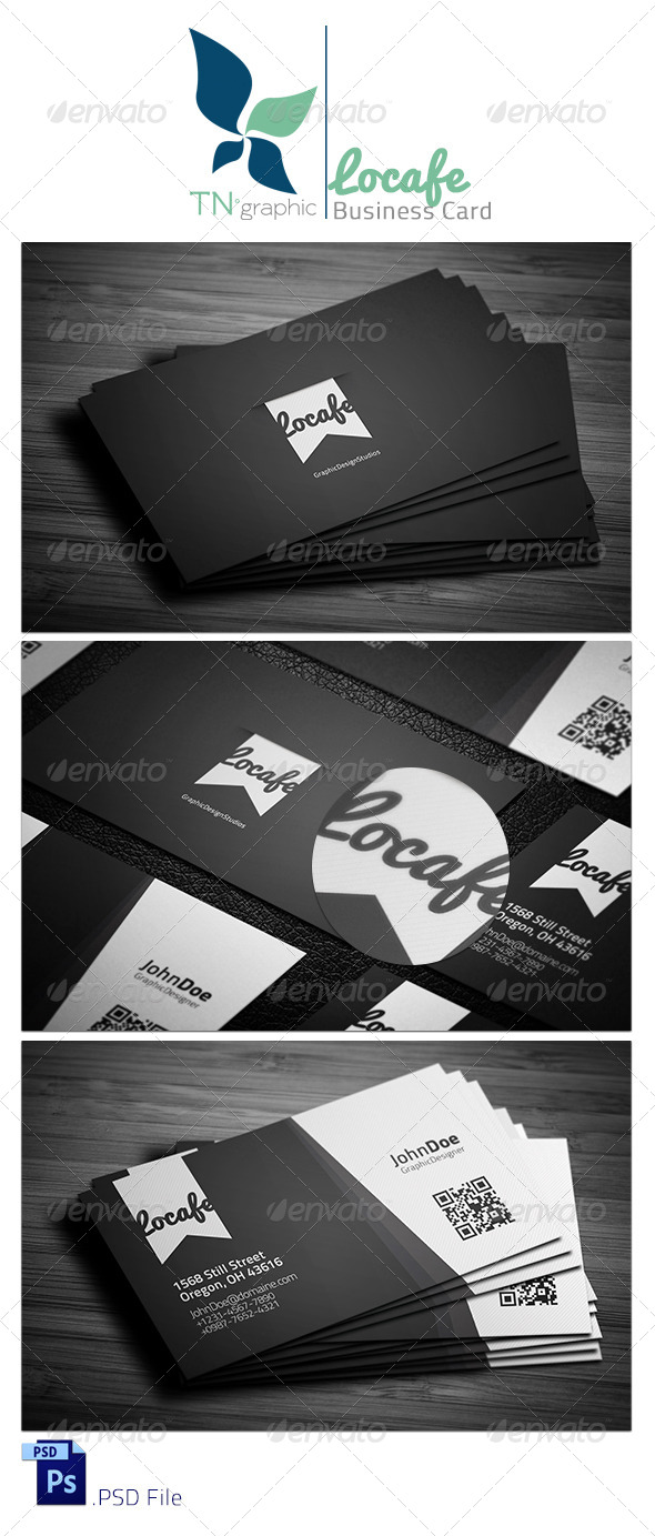 GraphicRiver Locafe Business Card 8409287
