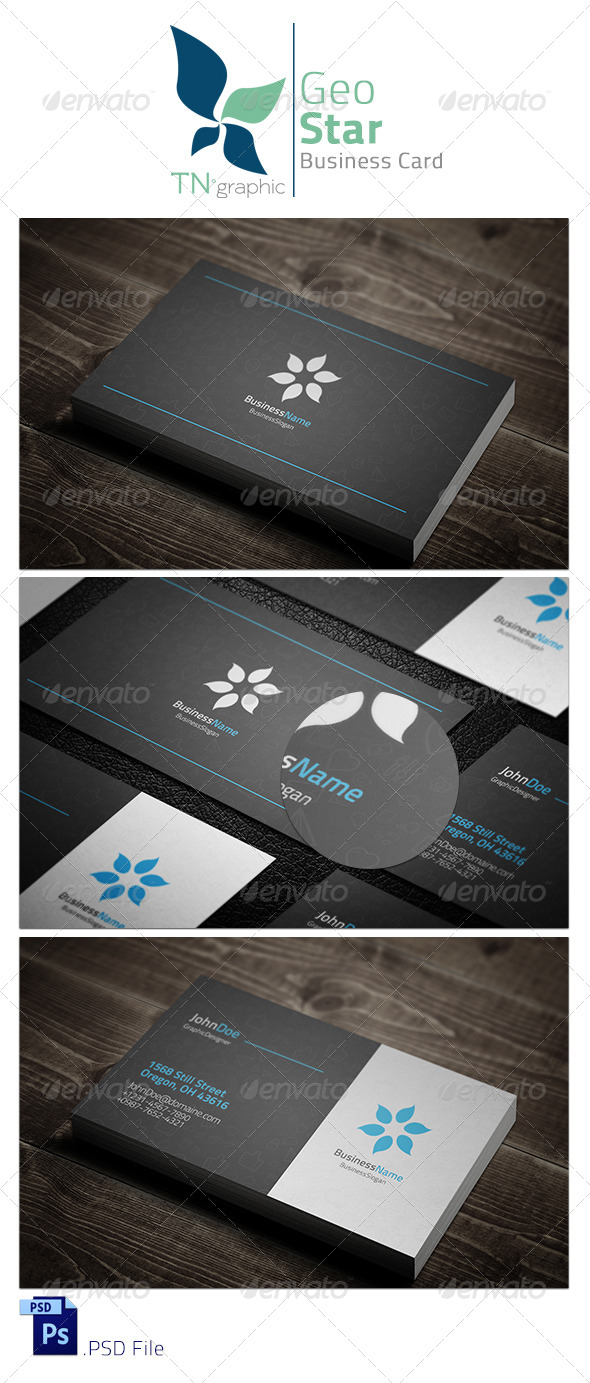Be Creative VI Business Card