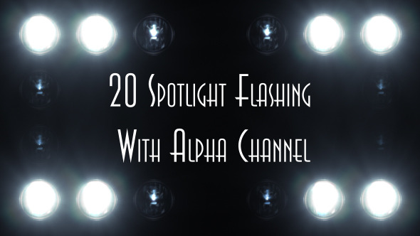 Spotlight Flashing 20-Pack