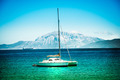 Yachts on azure sea water - PhotoDune Item for Sale