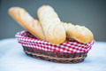 Baguette in a basket - PhotoDune Item for Sale