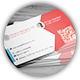 Creative Red Business Card V. 2 - GraphicRiver Item for Sale