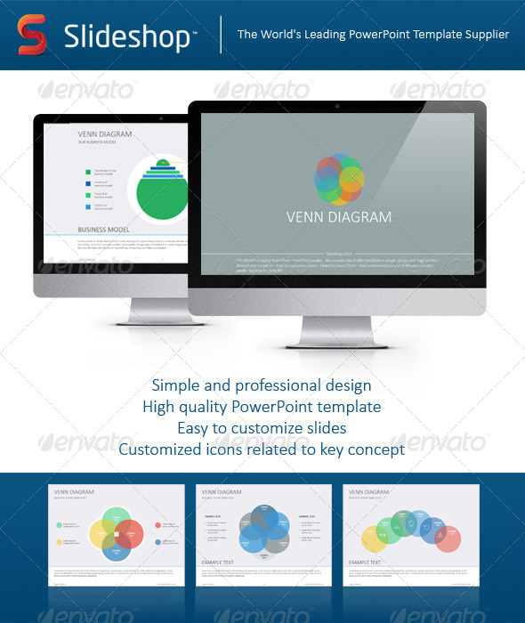 GraphicRiver Venn Diagram Flat 8234281
