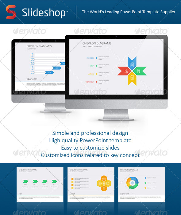GraphicRiver Chevron Diagram Flat 8234163