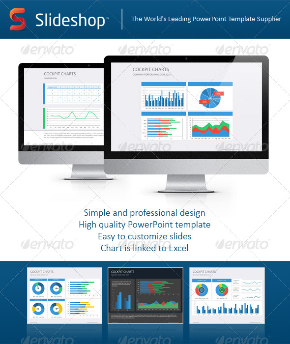 GraphicRiver Cockpit Charts 8234167
