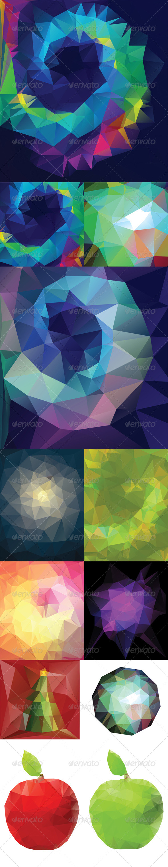 GraphicRiver Abstract Geometric Background 8409779