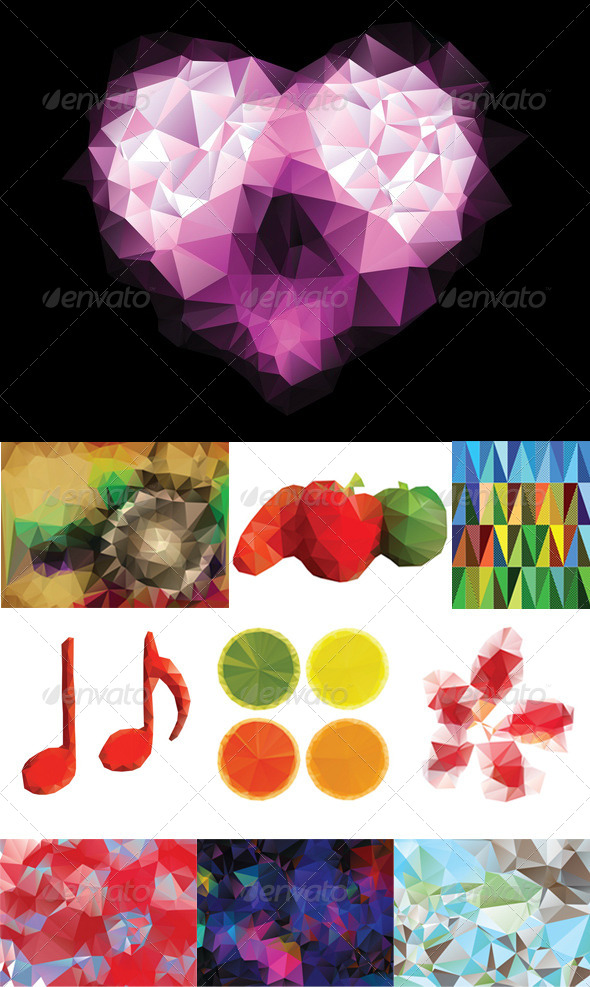 GraphicRiver Colorful Geometric Background 8409790