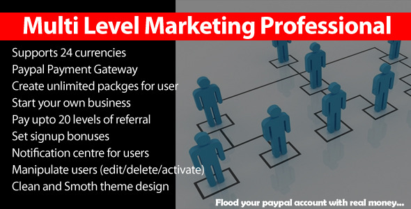 CodeCanyon Multi Level Marketing Professional 8328635