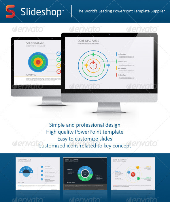 GraphicRiver Core Diagram Flat 8234170