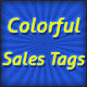 Colorful Sales Tags - GraphicRiver Item for Sale