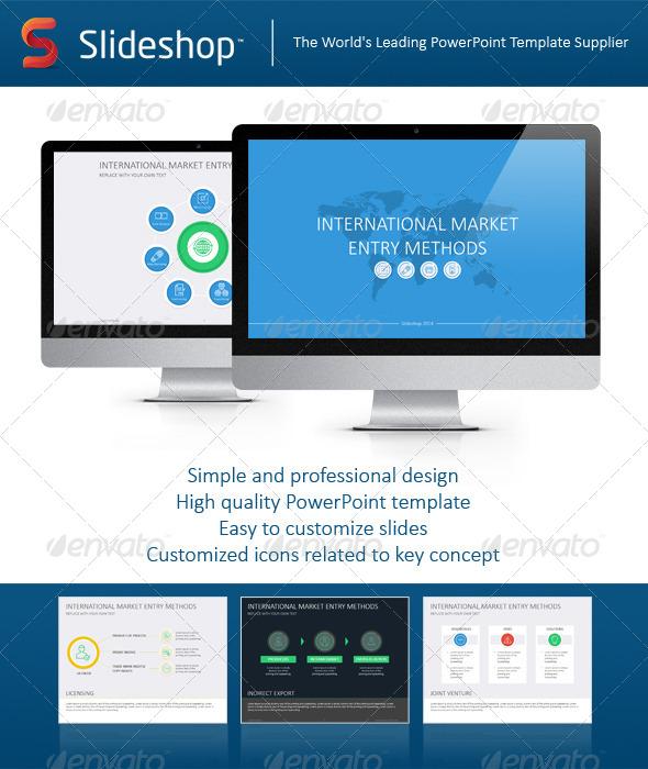 GraphicRiver International Market Entry Methods Flat 8234063
