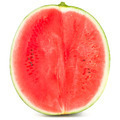 Sweet watermelon isolated on white background cutout - PhotoDune Item for Sale